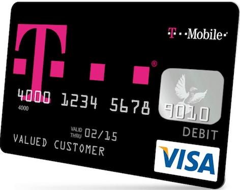 T-Mobile Visa card