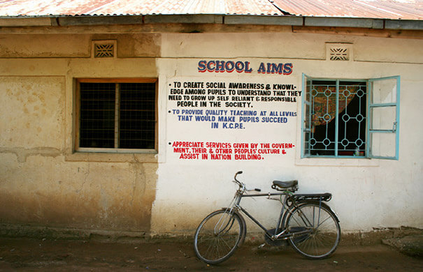 school in Kenya