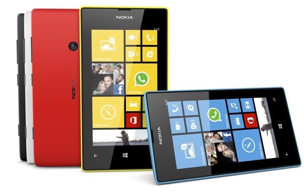 Windows phones by Nokia