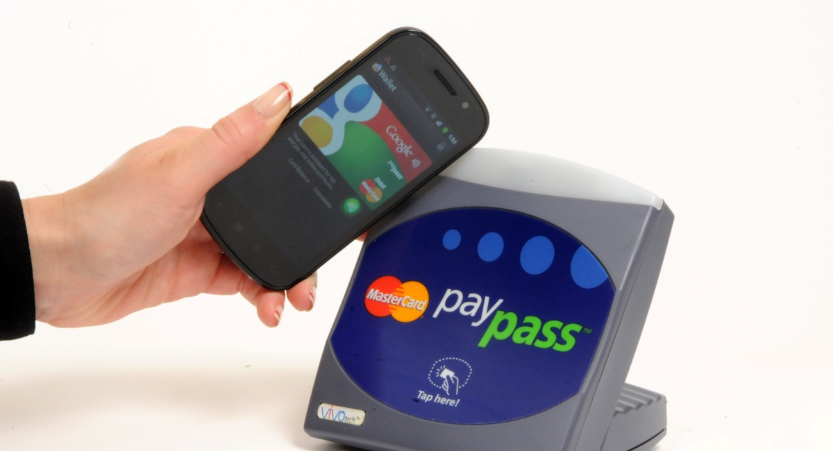 Google Wallet used on a Mastercard PayPass terminal