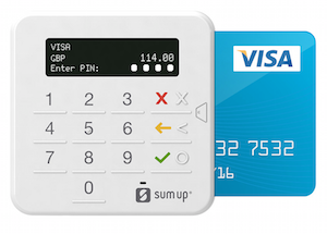SumUp card reader for chip and PIN