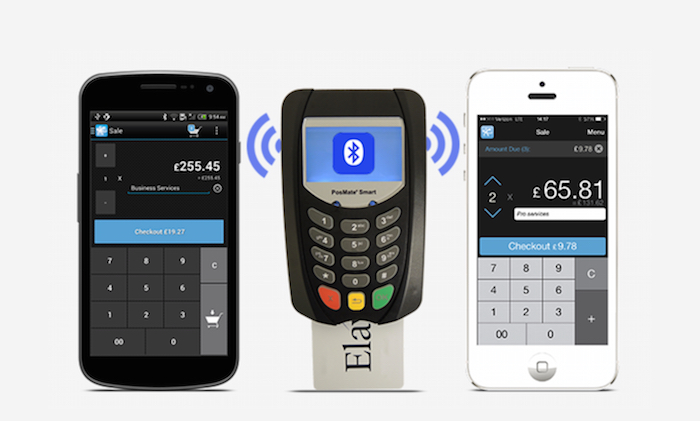 Elavon MobileMerchant card machine with app