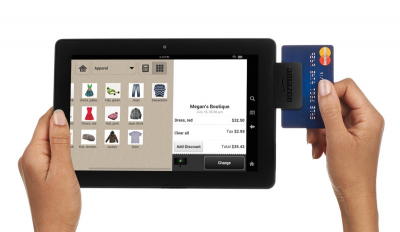 Amazon Local Register swipe card payment via tablet