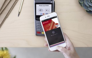 Apple Pay UK transaction with phone and terminal