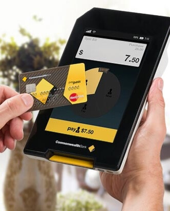 Albert EFTPOS tablet payment with card