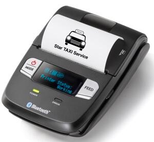 Bluetooth printer for black cab card reader