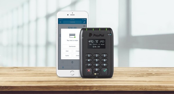 PayPal Here app and card reader