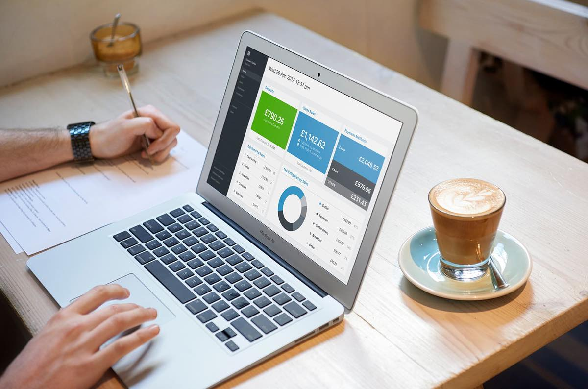 Square UK accounting dashboard