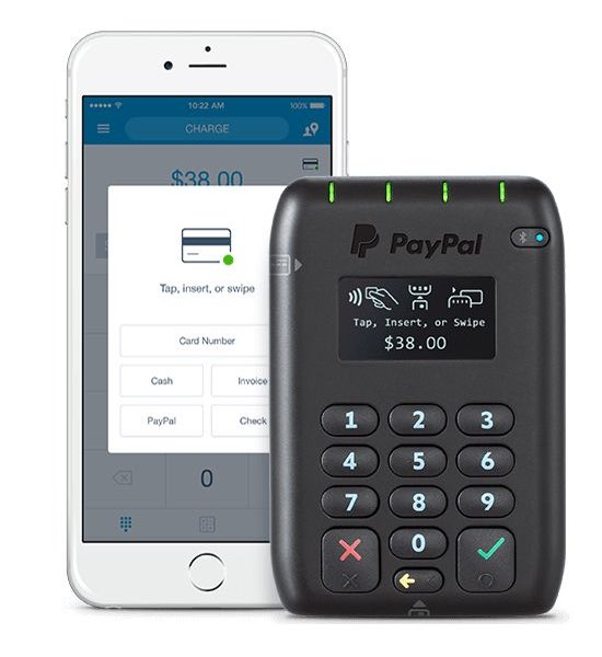 paypal here with iphone