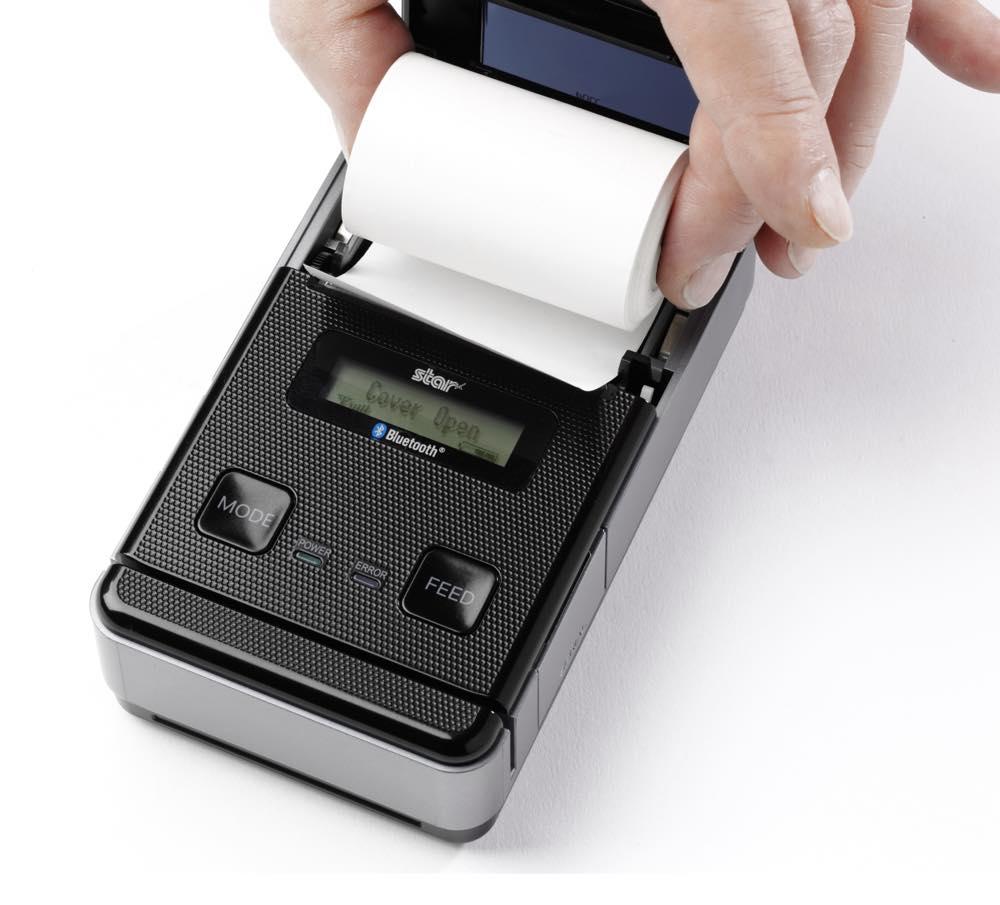 receipt printer SM-S220i paper load
