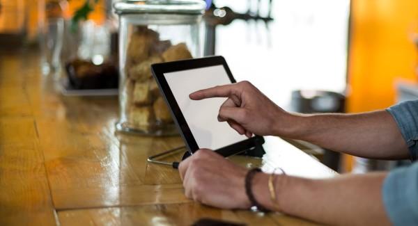 iPad POS stand UK