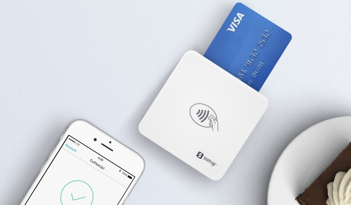 SumUp US card reader