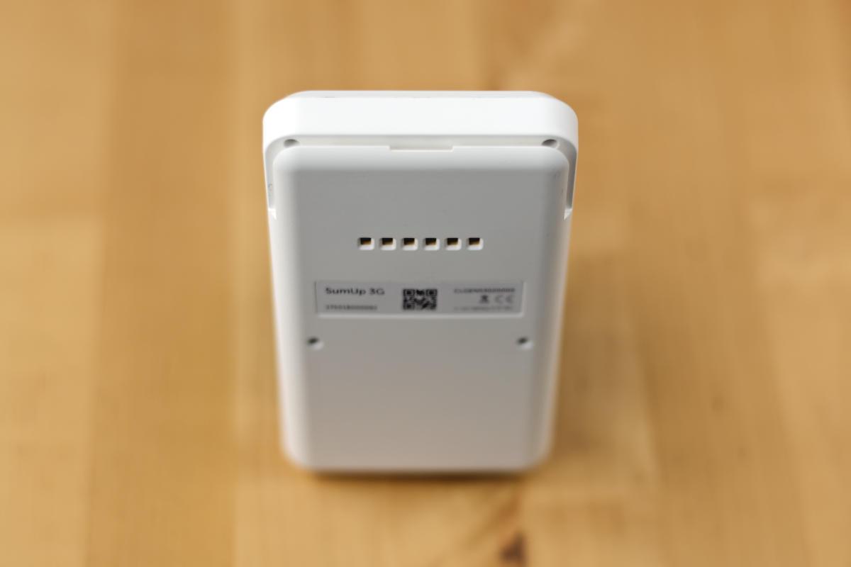 SumUp 3G terminal top
