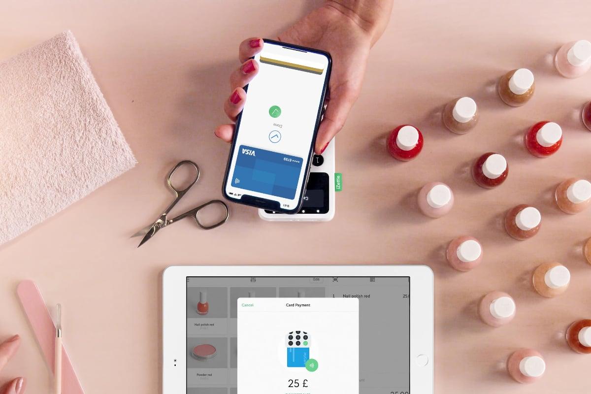 iZettle iPad setup