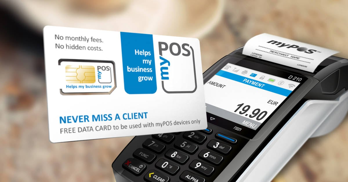 myPOS Combo with included data card