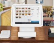 Square Point of Sale with Square Stand and card reader