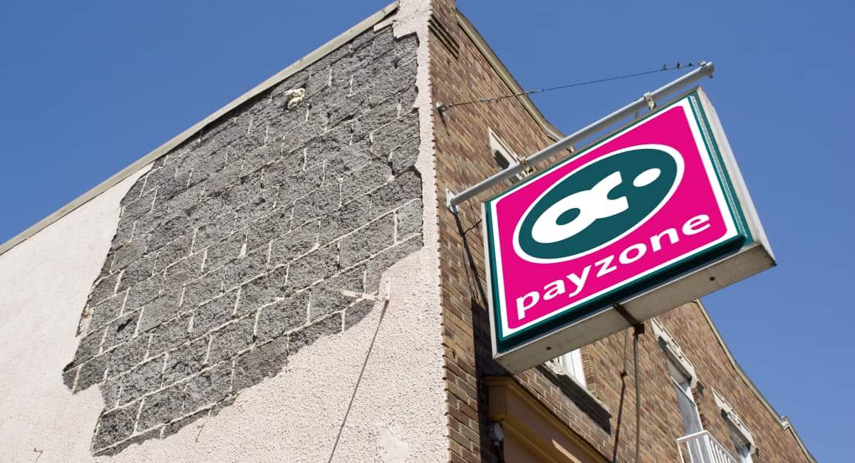Corner shop with Payzone signage
