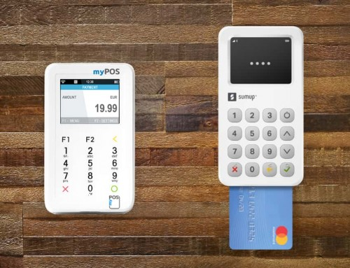myPOS or SumUp? Convenient card machines, different systems