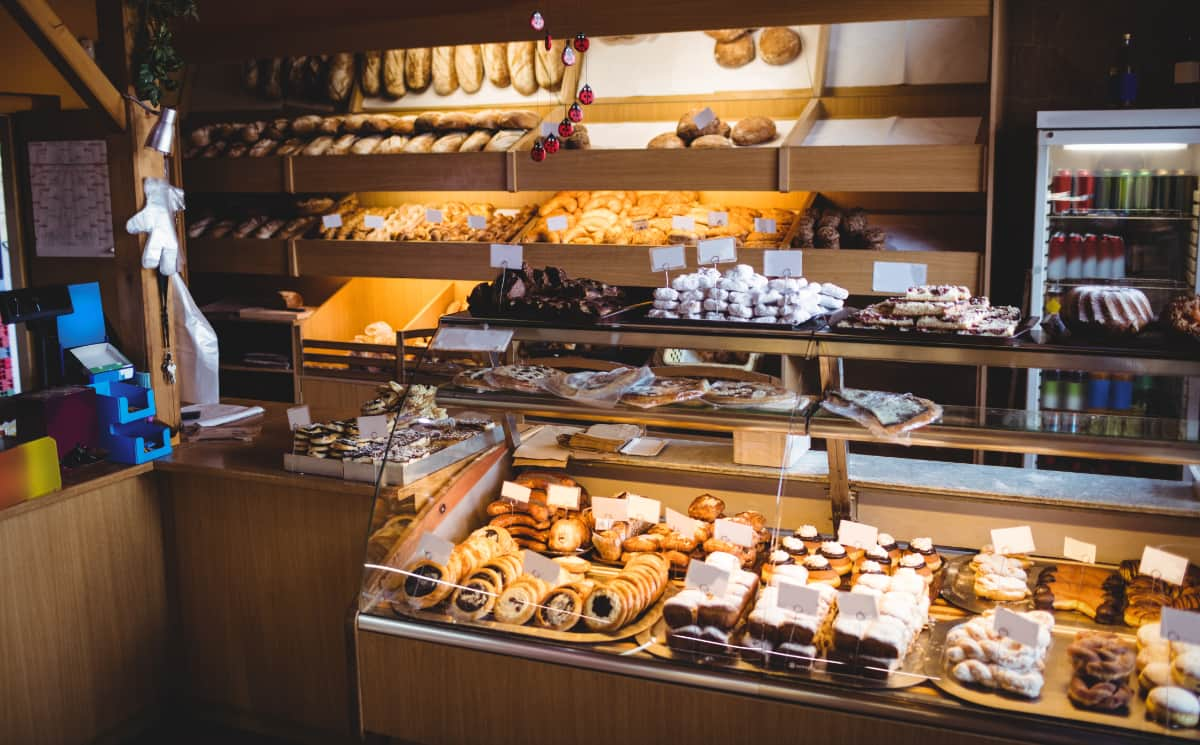 bakery till display