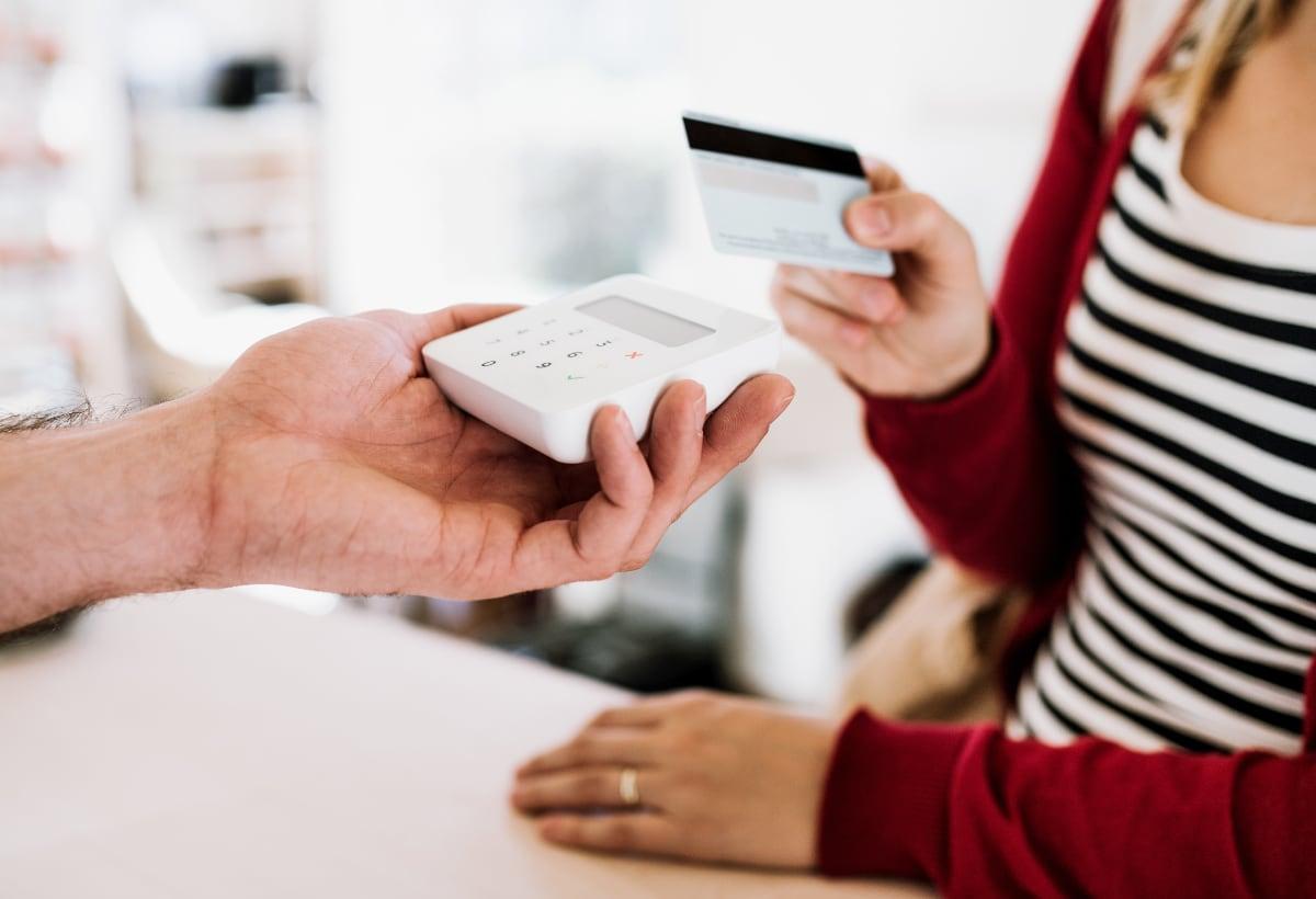 SumUp Air contactless card