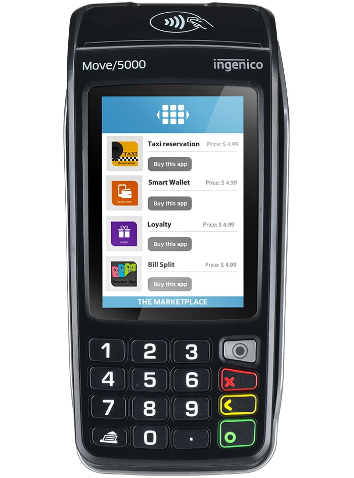 Ingenico Move 5000 terminal