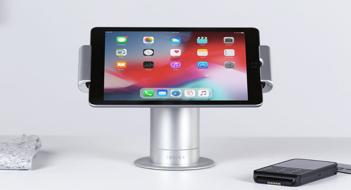 Proper Powered iPad Swivel Stand