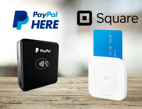 Square vs. PayPal Here – similar card readers, but different experiences