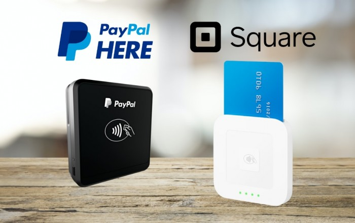 Square vs PayPal Here