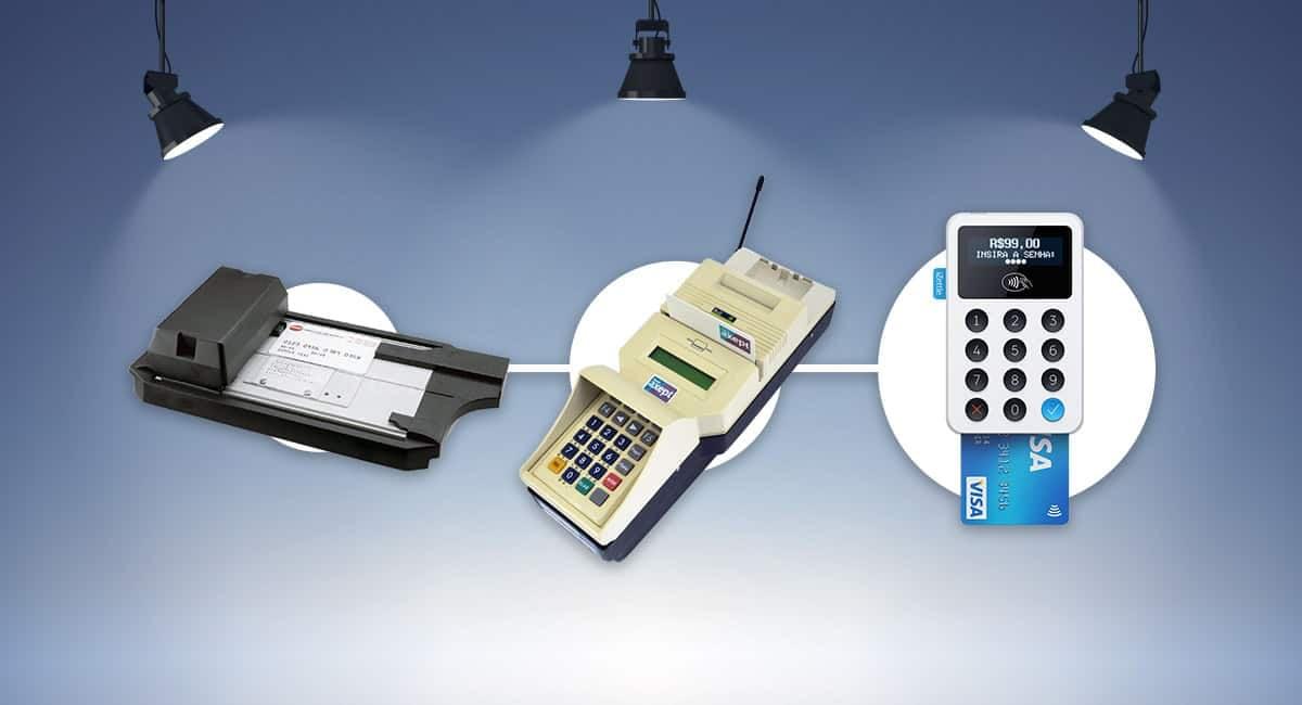 Credit card machine history