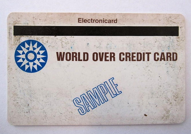 Magnetic stripe card by IBM