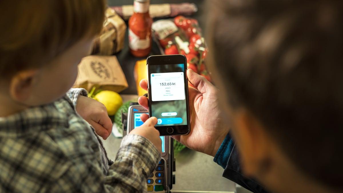 MobilePay terminal payment Denmark
