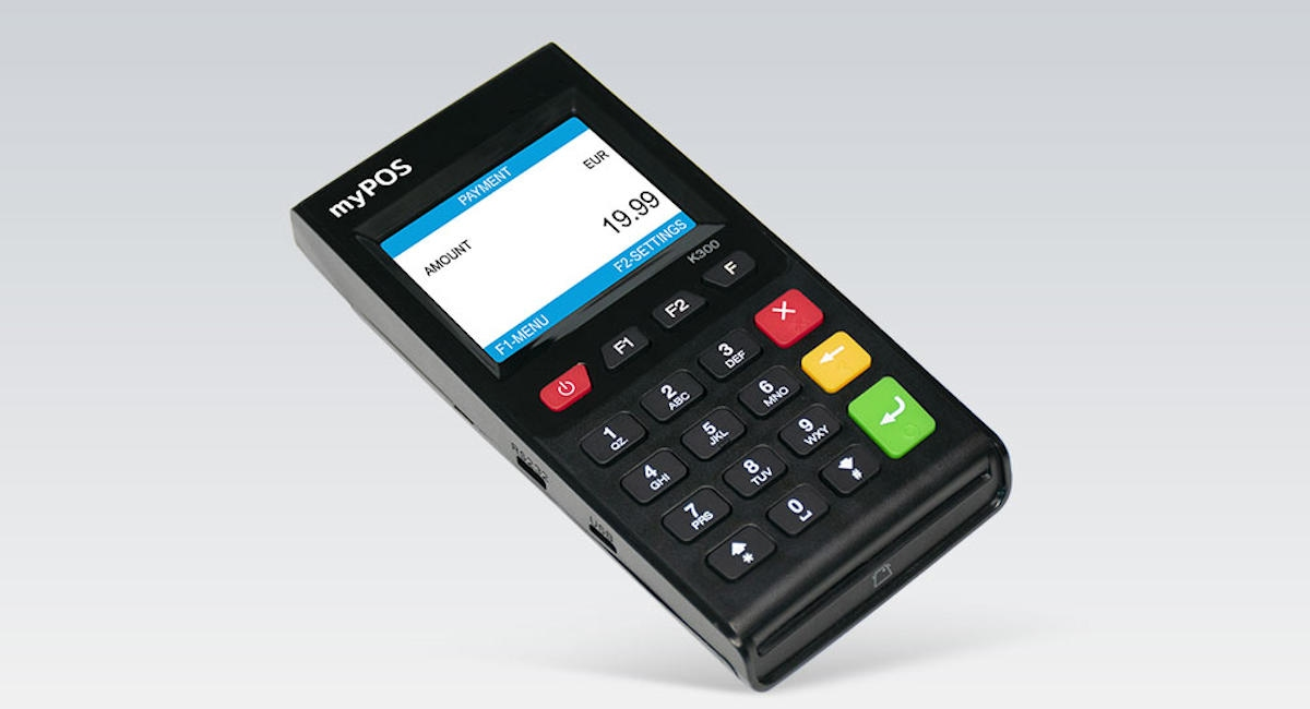 myPOS Go card reader