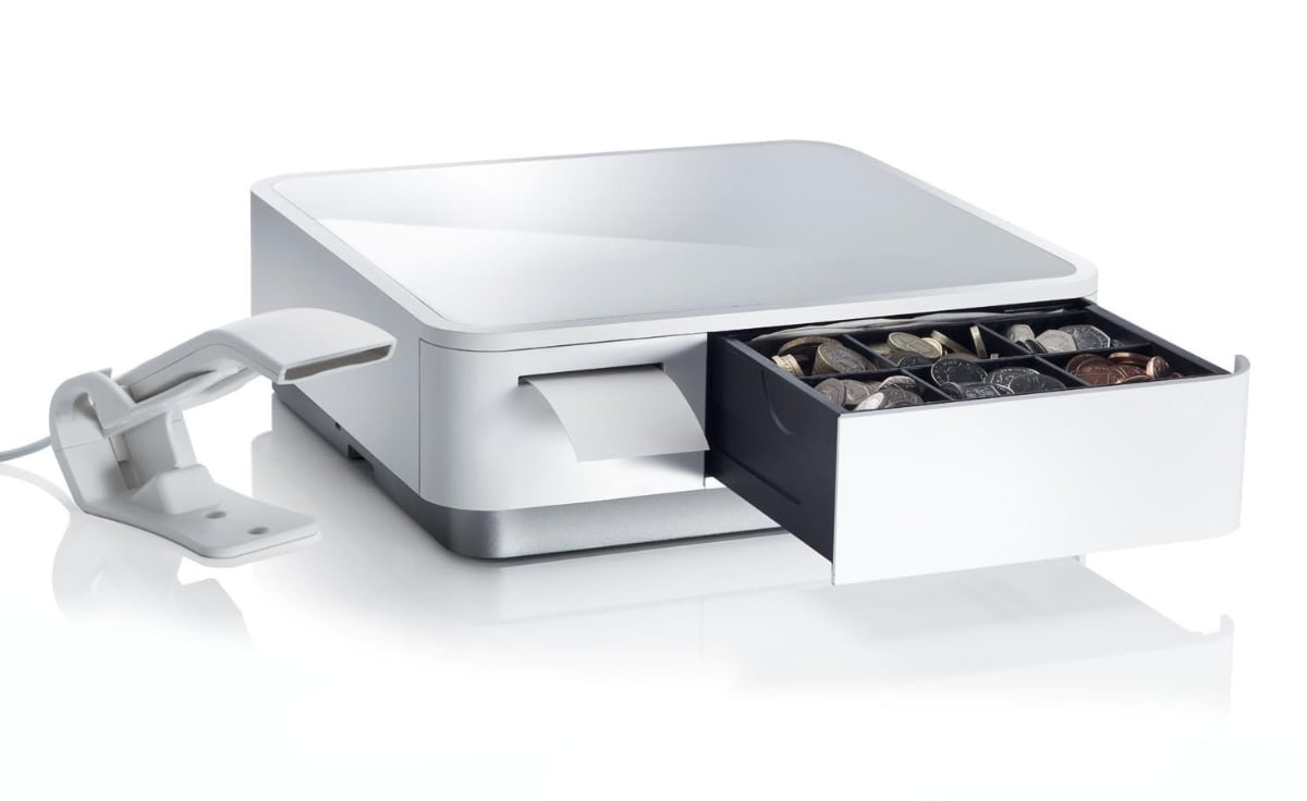 mPOP cash drawer and printer