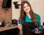 card machine for mobile hairdresser