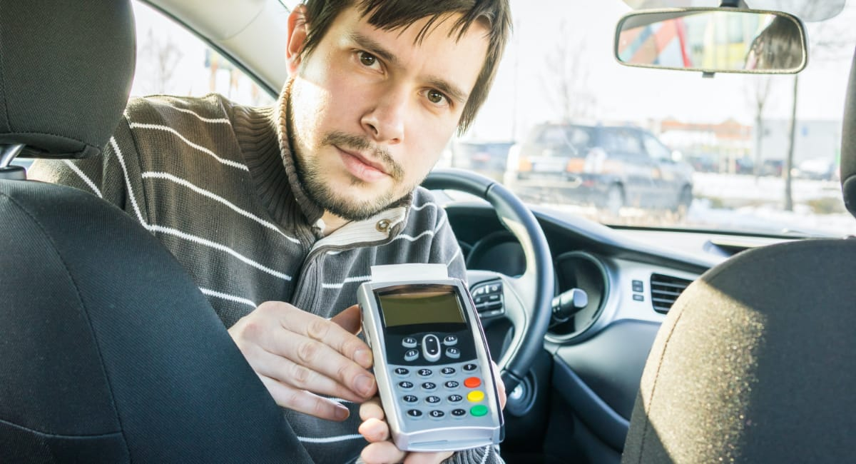 Best card machine for taxi drivers