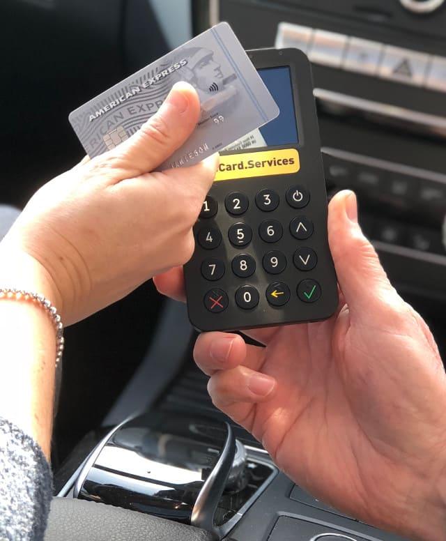CabCard Services Pocket 3G Terminal