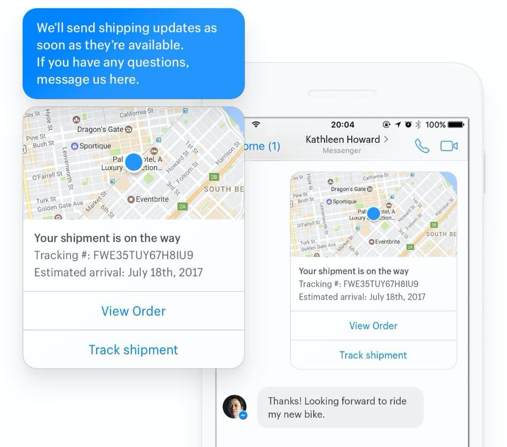Shopify Lite Messenger chat