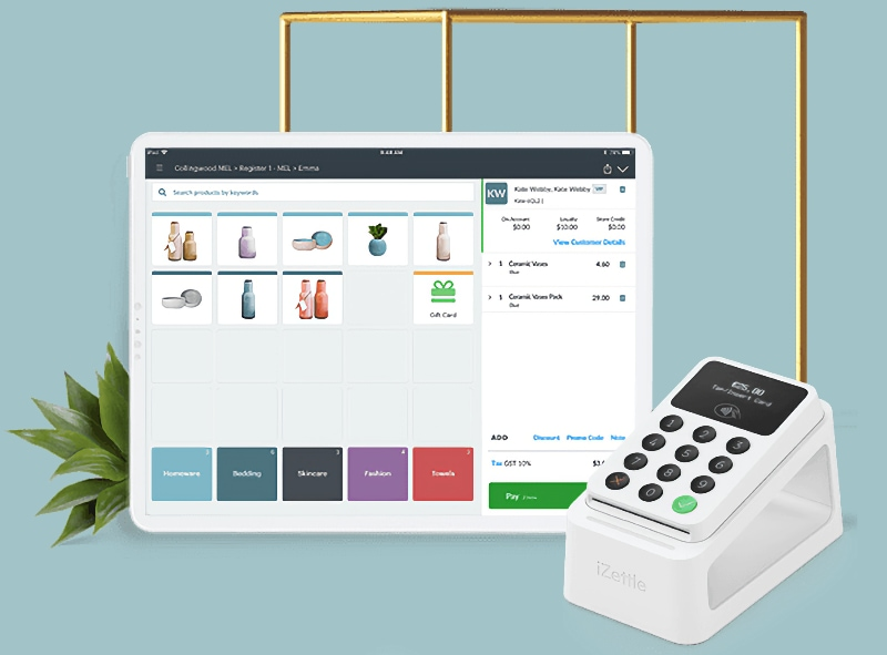 Vend and iZettle