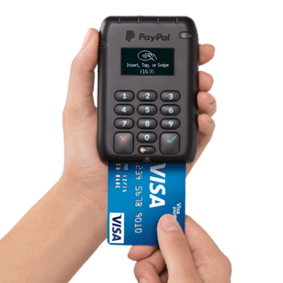 PayPal Here chip card payment