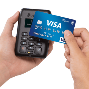 PayPal Here contactless card payment