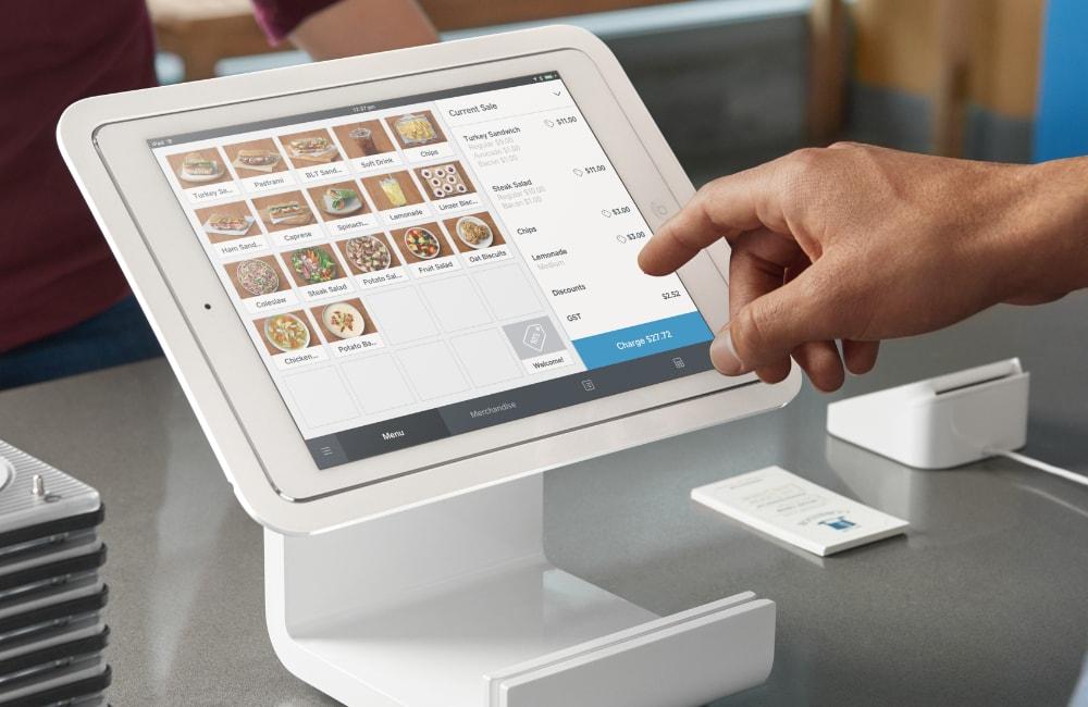 Square iPad checkout