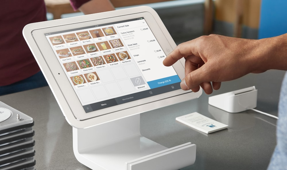 Square Point of Sale on iPad