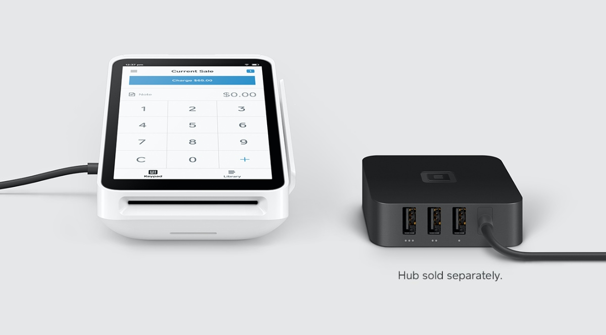 Square Terminal with Hub