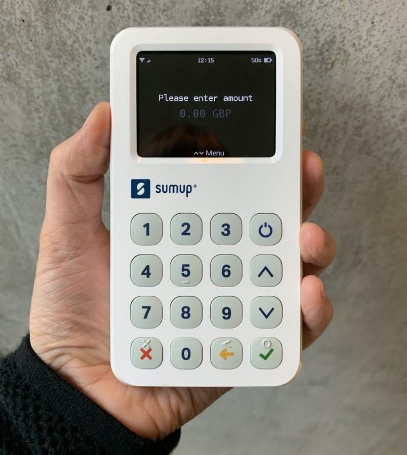 SumUp 3G handheld