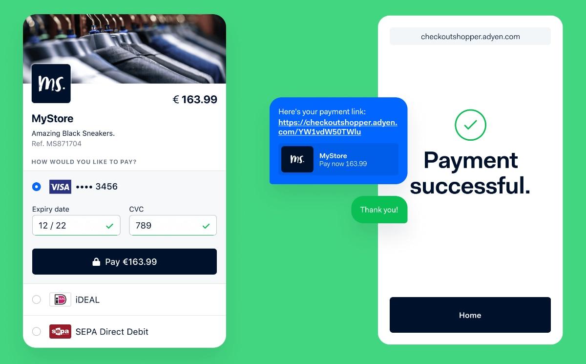 Adyen Pay by Link