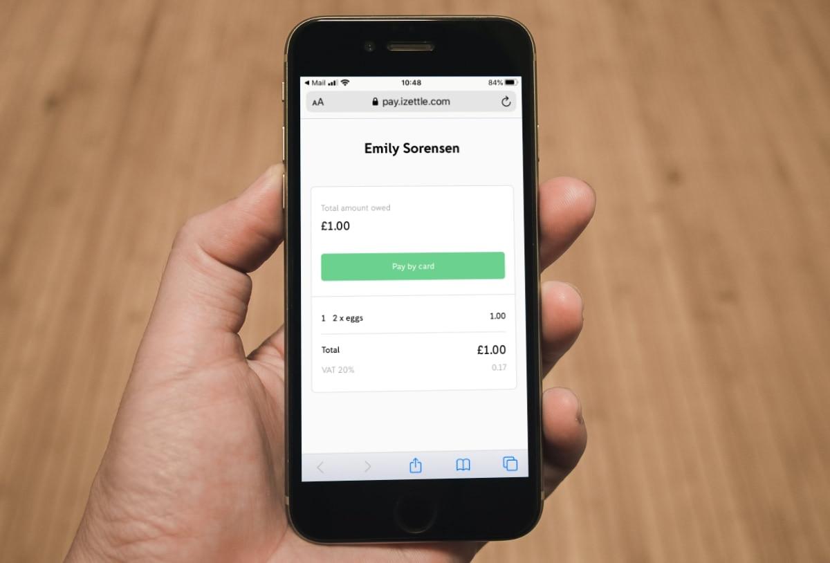 payment link iZettle