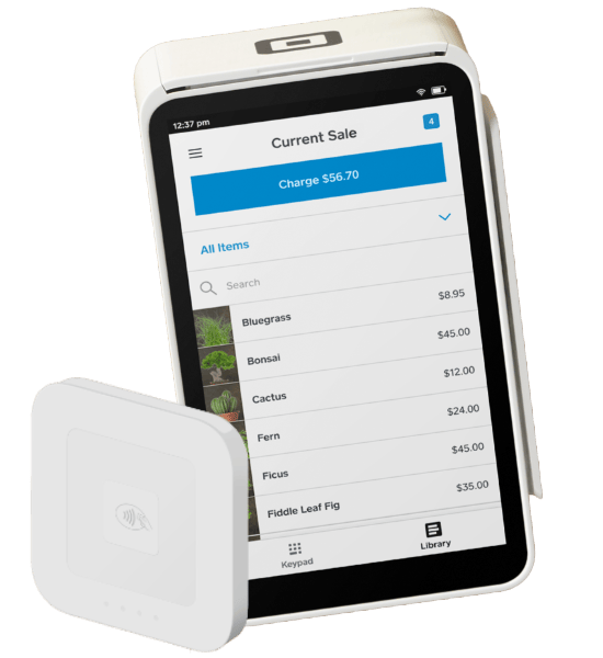 Square Reader with Terminal