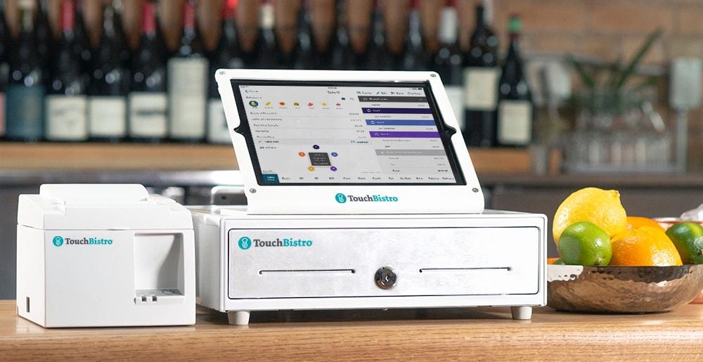 TouchBistro POS in restaurant