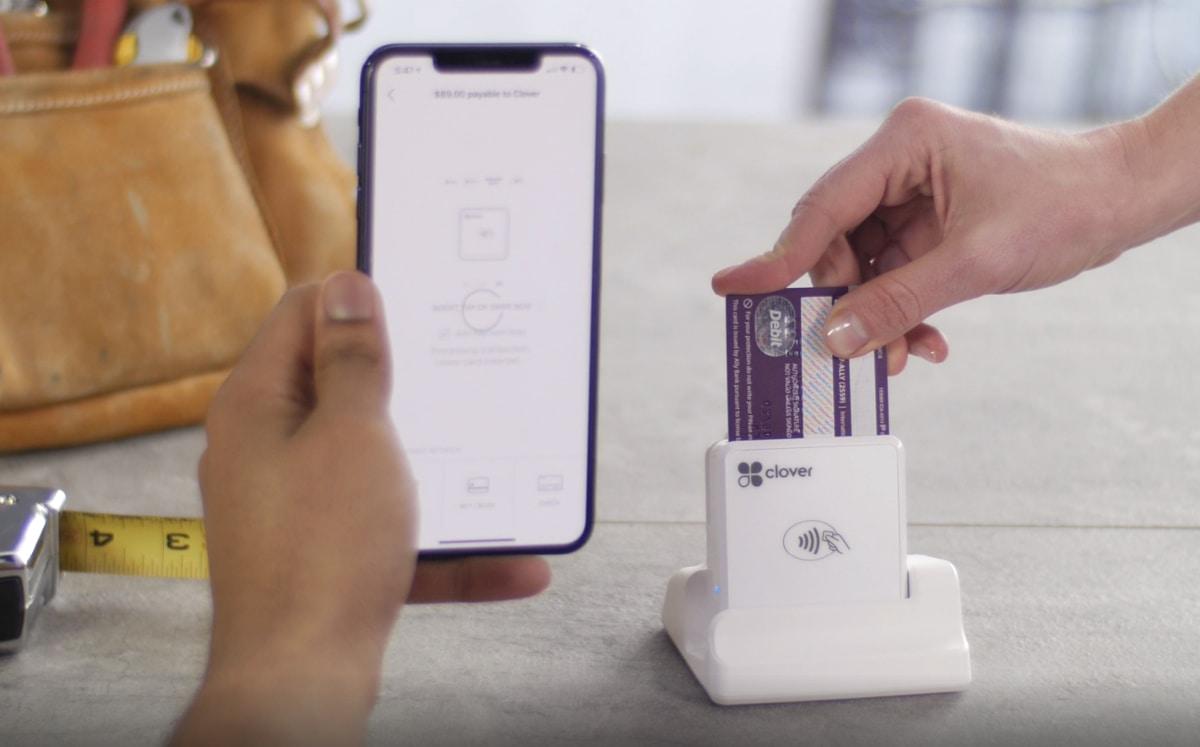 Payline credit card reader