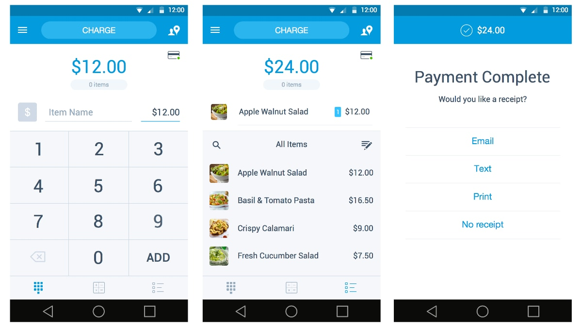 PayPal Here Android app